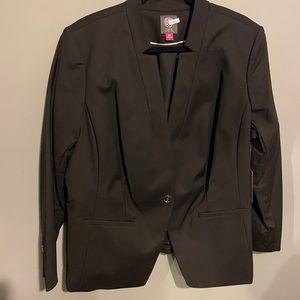 NWT Vince camuto blazer size 18w black plus